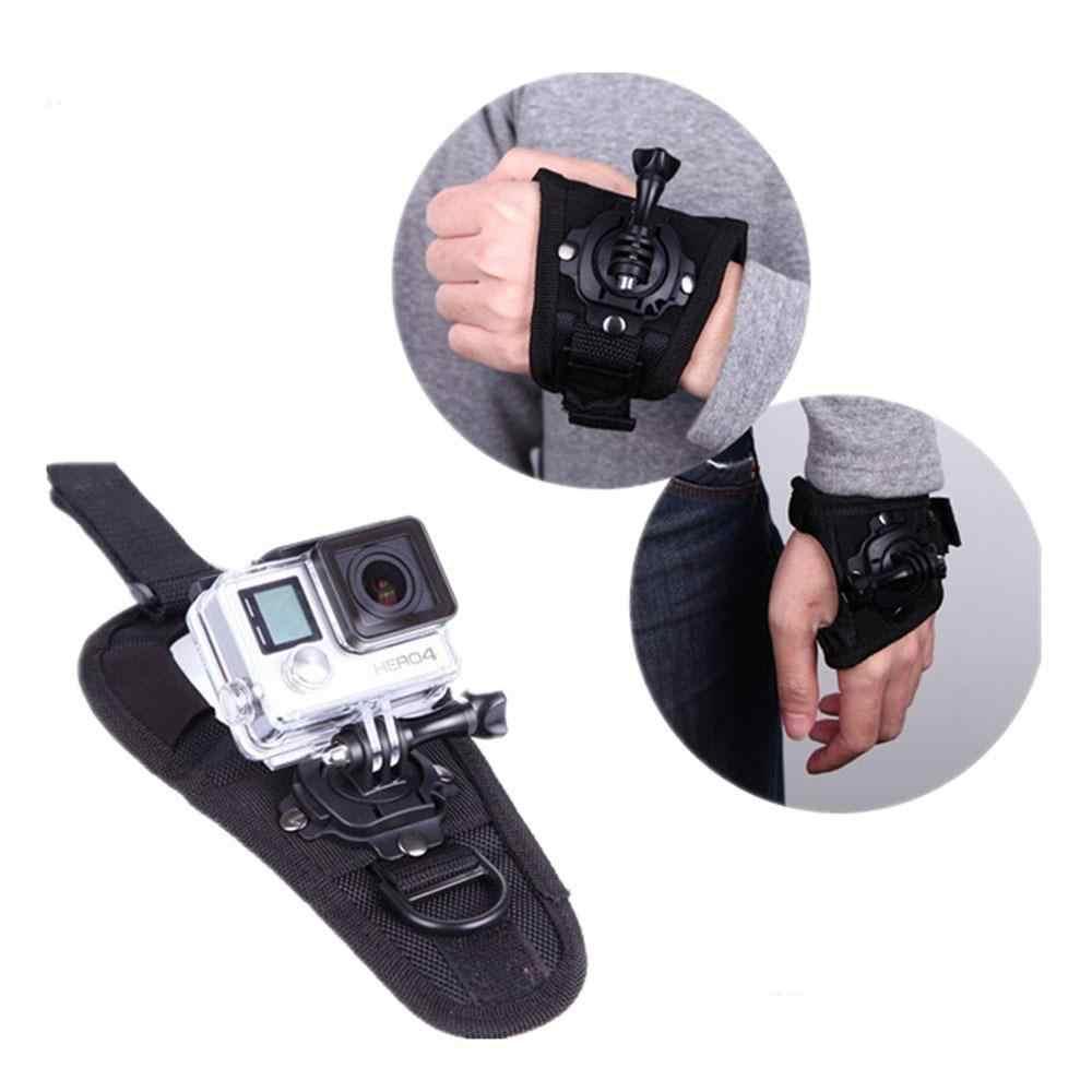 درجات المعصم الفرقة الذراع حزام حزام ترايبود جبل ل GoPro بطل 4 3 3 2 كاميرا قبضة محول الفرقة الحال بالنسبة الذهاب برو اكسسوارات