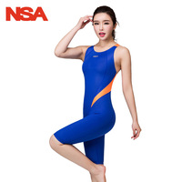 NSA Arena Swimwear Women One Piece Swim Suit Swimming Suit For Women Swimsuit Competitive Racing Bathing