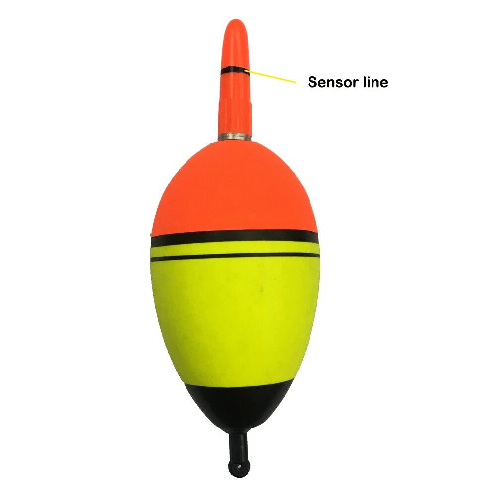 Ladeger/ät Set Fische bei/ßen automatisch Elektrische Fishing Buoy Erinnern AntiGnor Smart Fishing Led Licht Float Luminous Gl/ühend Float Farbe : Backup Battery 5Pcs