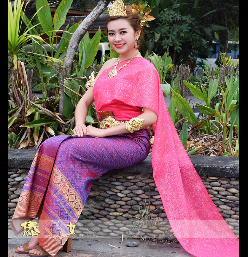 Popular Thai Women And Thai Traditional Dress   Triditional Thai Beautiful