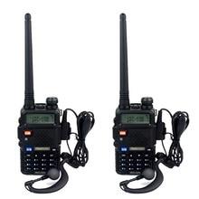 2pcs Walkie Talkie Retevis RT 5R DTMF VOX 5W 128CH UHF/VHF Ham cb Frequency Two Way Radio Comunicator Hf Transceiver A7105A