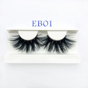 Image 5 - Buzzme Mink Eyelashes Wholesale 20/30/40/50pairs/lot 3D Mink Lashes Only With Tray No Box Makeup Dramatic Long Mink Lashes