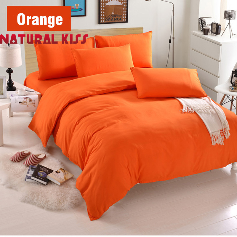 Hot sale Minimalist Pure Style Bedding Sets Bed Sheet and Duvet Quilt Cover Pillowcase Soft and Comfortable Queen Twin Size