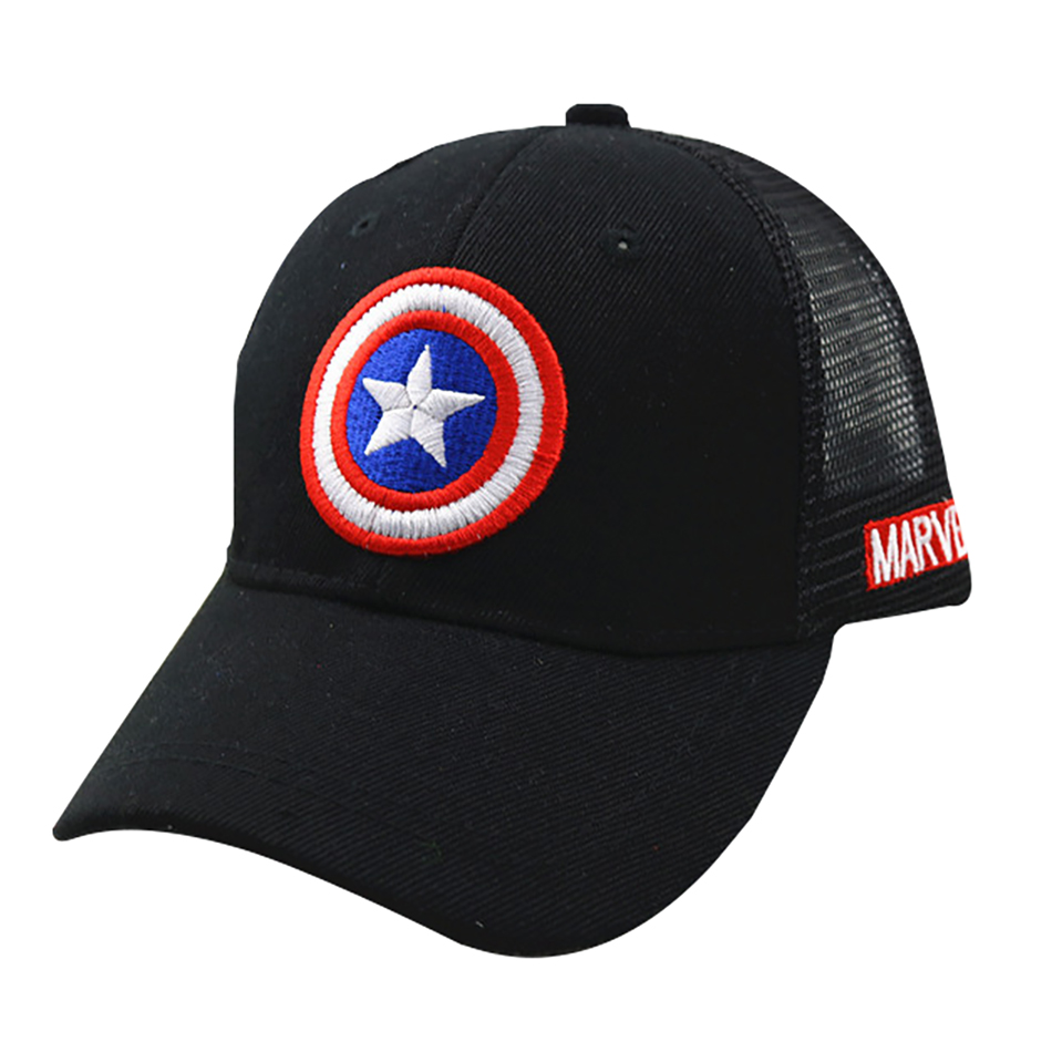 HTB1pUnPbwKG3KVjSZFLq6yMvXXa6 - 3-10 Yrs Children Hats Superman Baseball Cap Captain America Baby Hip Hop Hats Summer Fashion Boy Snapback Boys Hip Hop Kids Hat