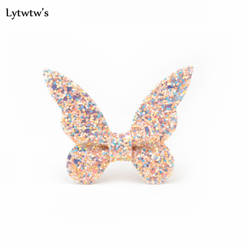 baby girl Infant hair accessories clothes band Butterfly newborn tiara headwrap hairband Gift Toddlers clips hairpins   Headwear