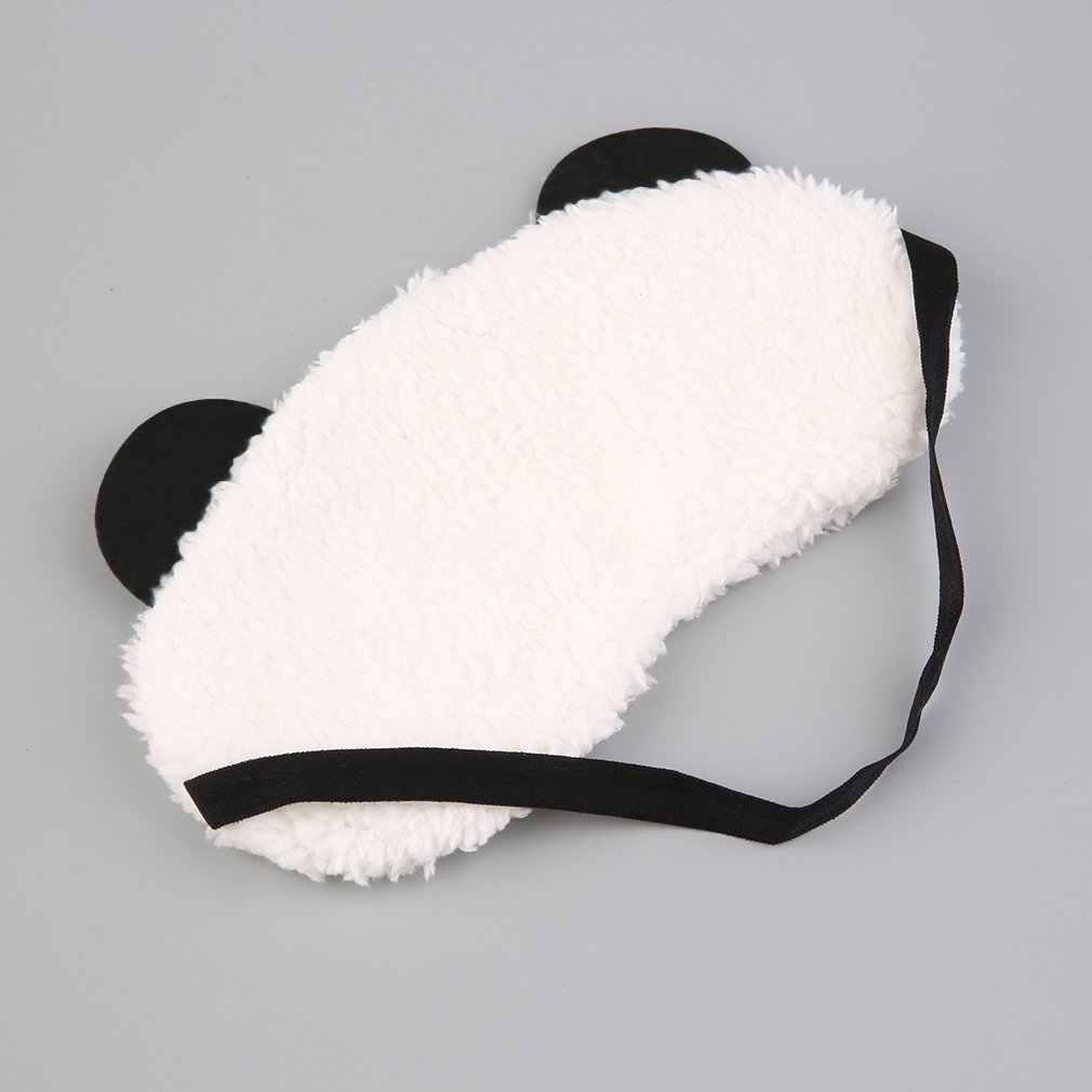 4 типа милый дизайн плюшевая маска для глаз с пандой для путешествий, Мягкая повязка на глаза, тени, переносная повязка на глаза для сна, здоровье