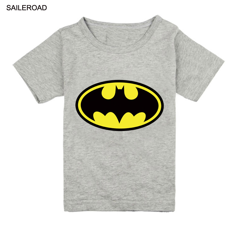SAILEROAD 18M-13years Toddler boys Batman t shirt new summer cotton children kids shorts baby boys girls tops tees t shirt цена 2017