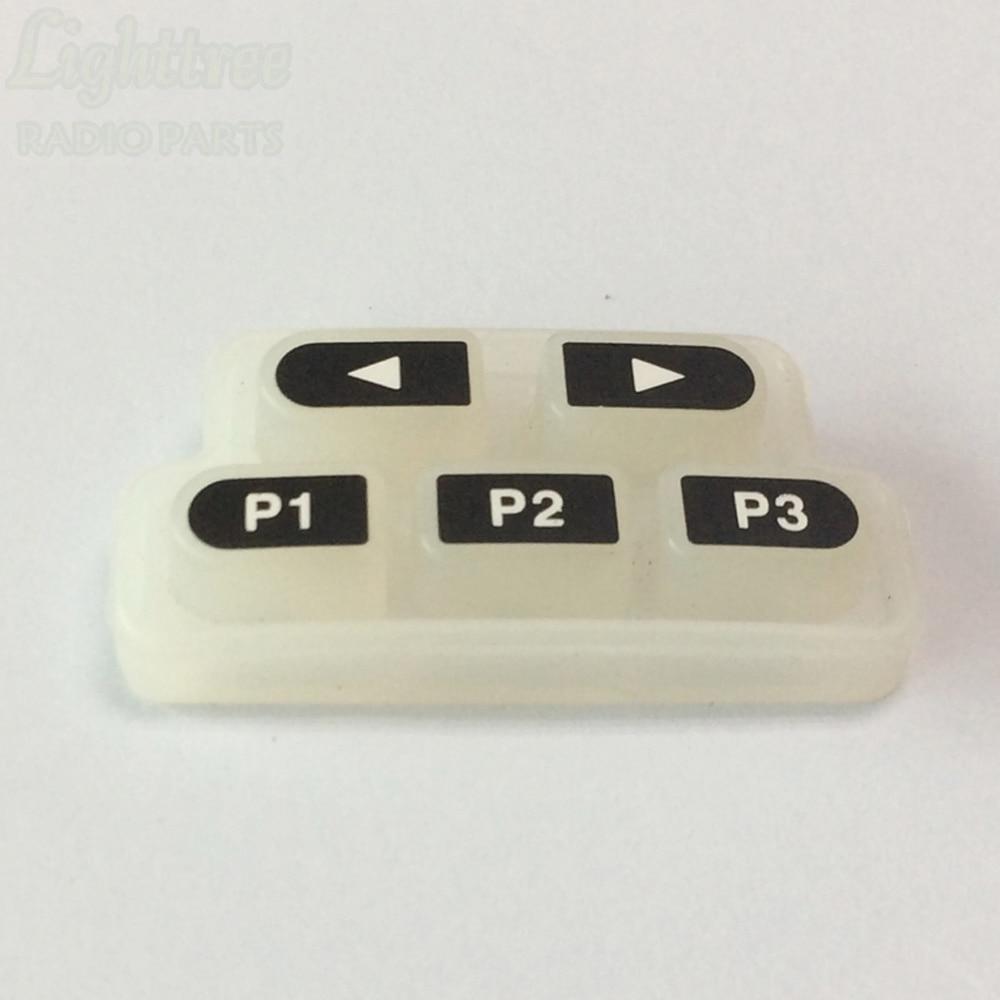 10X Rubber Keypad For Motorola CP1300