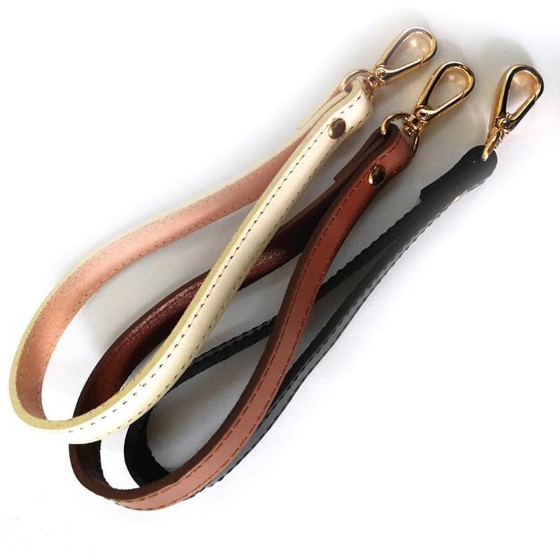 Misterolina Genuine Leather Wristlet Wrist Bag Strap Replacement For Clutch Purse Handbag Bag Accessories Bag Strap Replacement