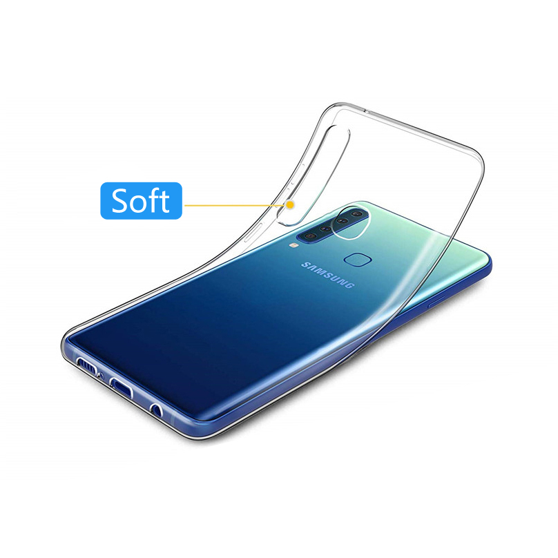 SUREHIN soft case for Samsung galaxy A9 A8 A70 A50 A40 A30 <font><b>A2018</b></font> A10S coque clear transparent silicone cover for samsung A9 case image
