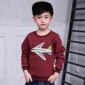Pioneer niños dinosaurio superior oferta especial regular 2016 de invierno y otoño ropa de sport boys trajes de alta calidad de manga larga t-shirt