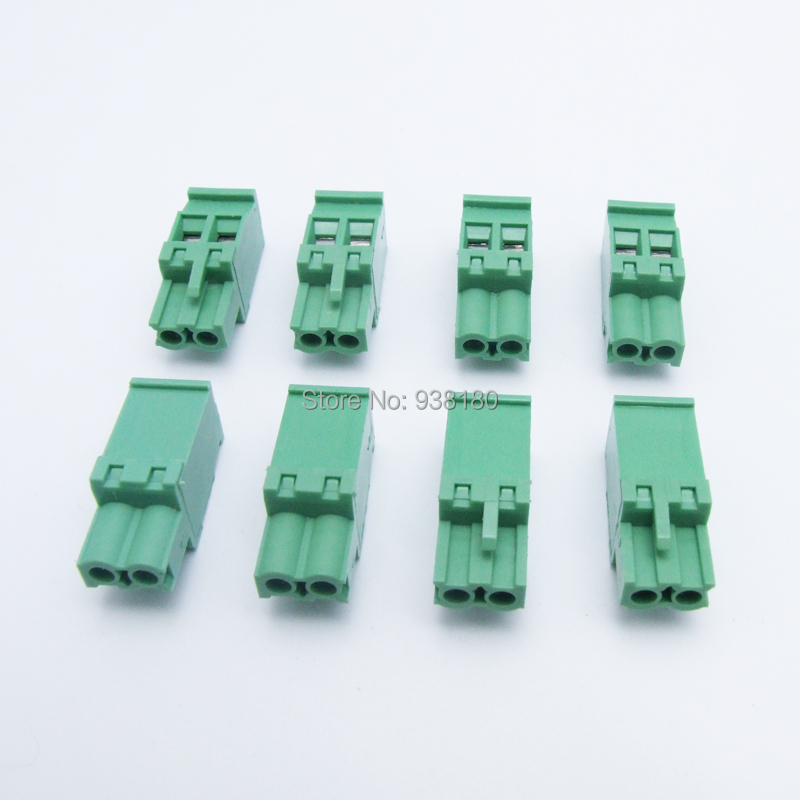 100pcs 5.08mm Pitch 2 Pins vertical pcb connector female terminals instead of PHOENIX CONTACT NO MVSTBR 2,5/ 2-ST - 1792016