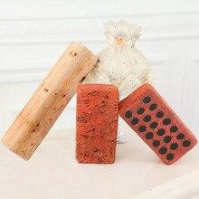 Хлопковая Подушка «кирпич» дерево пень Дерево Паттен креативные высокоэластичные плюшевые подушки детские игровые игрушки@ Z216 FJ88