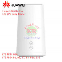 Odblokowany Huawei B528 LTE CPE Cube Router B528s-23a 4G router Wi-Fi cat 6 z gniazda karty sim Router 4g port lan(China)