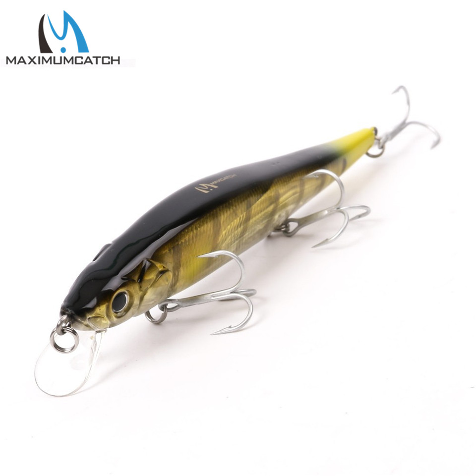 Maximumcatch Crank Bait Fishing Lures With VMC Hooks Minnow Bass Fishing Lures Artificial Bait Hard Fishing Lure