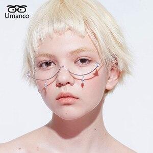 Image 2 - Umanco 2019 新ファッションシルバーのための男性の高級デザイナーブランドストリート写真ガールギフト
