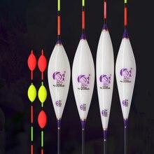 8 pcs/lot prix de gros flotteurs de pêche Composite Nano Bobber divers modèles carpe & Crucian Flotador Pesca accessoires de pêche sattaque