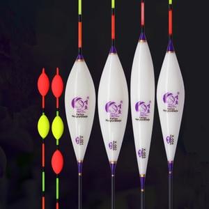Image 1 - 8 pcs/lot prix de gros flotteurs de pêche Composite Nano Bobber divers modèles carpe & Crucian Flotador Pesca accessoires de pêche sattaque