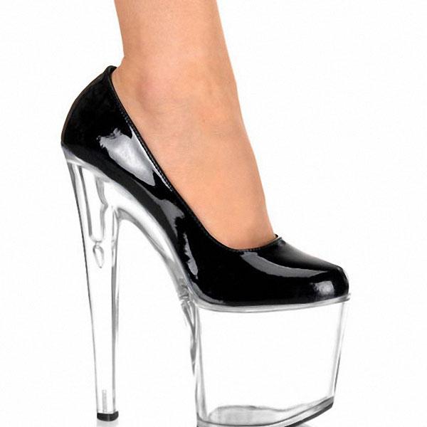 8 Inch Women Mary Jane Platform PU Pumps 20cm Sexy High Heels Multi Colored Shoes Exotic Dancer High-heeled Shoes 20cm sexy ultra high heeled platform shoes performance shoes platform black pu leather single shoes 8 inch fashion crystal shoes