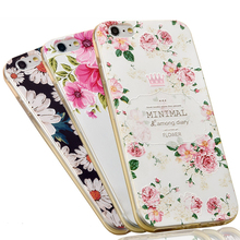 3d Embossing Soft Silicone Tpu Back Cover Case For Apple Iphone 6 6s Plus Case With Dust Plug For Iphone 6 6s Phone Cases