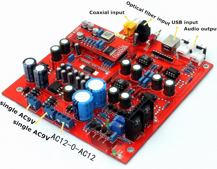 Free-Shipping-PCM1794-WM8805-DAC-decode-board-Decoder-not-including-USB-card- (4)