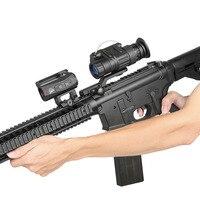 Бесплатная доставка pvs 14 Тактический Ночное видение область для страйкбол пистолет Охота Стрельба hs27 0008
