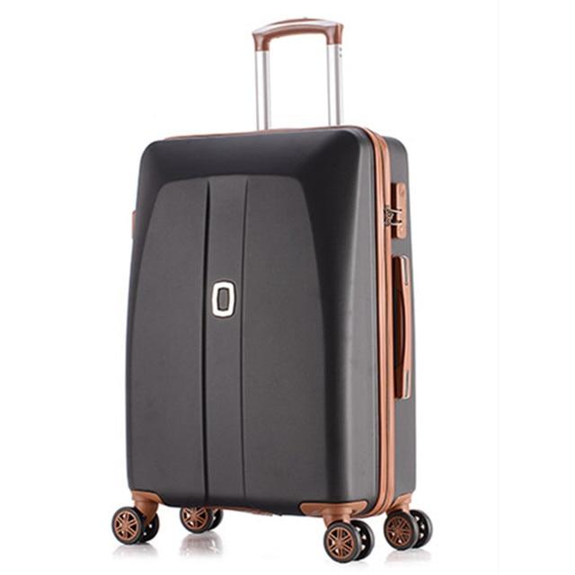 Kundui Women Travel Suitcase Abs Pc Trolley Case New Style Men