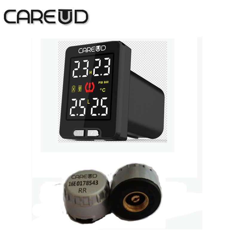 careud tpms U912 for honda 4 min external sensors tpms font b tools b font tire