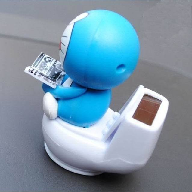 Solar Car Furnishing Articles Jingle Cats Toilet Doll Automotive ...