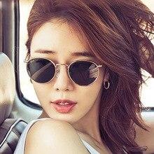 PLINTH Vintage Round Sunglasses Women Ray Bann Retro Small S