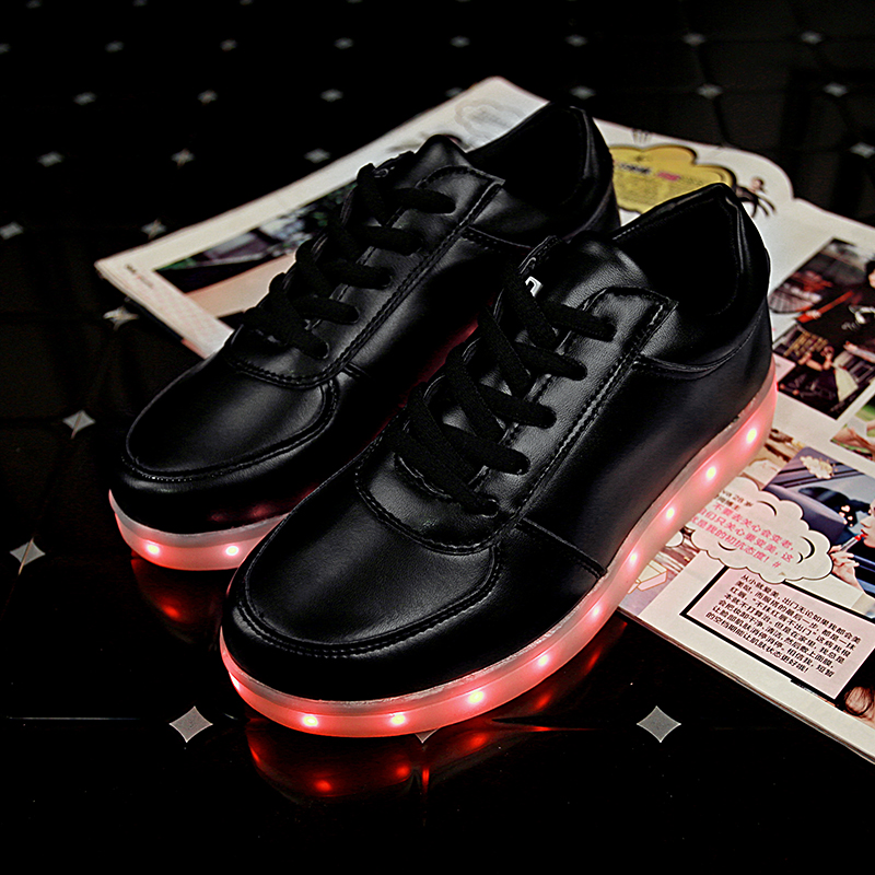 Led Sneakers Classic Strap Kids 11