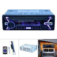 1 Din 12V Digital Bluetooth Car Radio Audio Stereo MP3 Player 7 Color Light Front Detachable