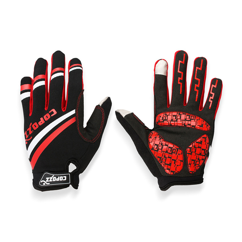 Cycling gloves Riding Long Full Finger Gloves Silicone Breathable Men Women Mittens