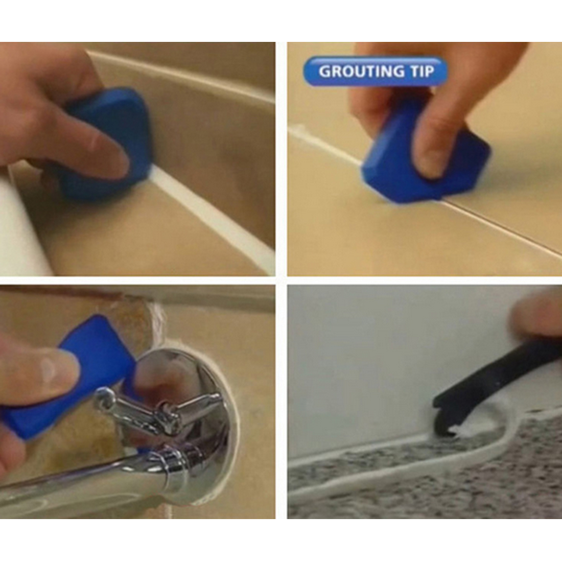 Купить с кэшбэком Professional Caulking Tool Kit Joint Sealant Silicone Grout Remover Scraper Home & Garden Tool Kit Hand Tools