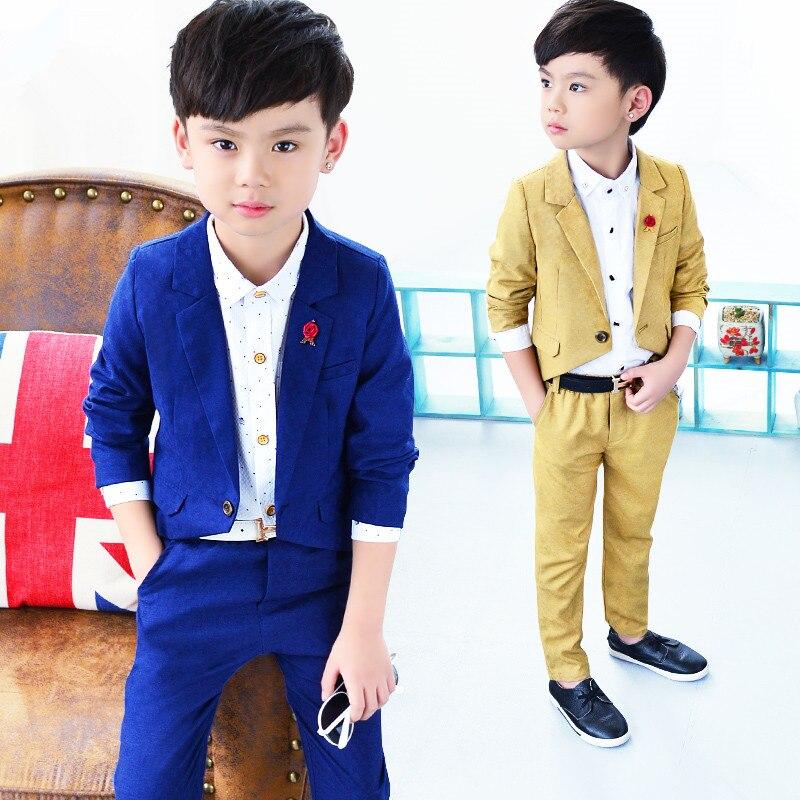 Baby Suit Gentleman Boys Clothing European Style Baby Boy