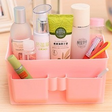 Large Capacity Multifunction Make Up Cosmetics Storage Box Container Bag Desktop Cosmetic Makeup Organizer 5 Colors -15