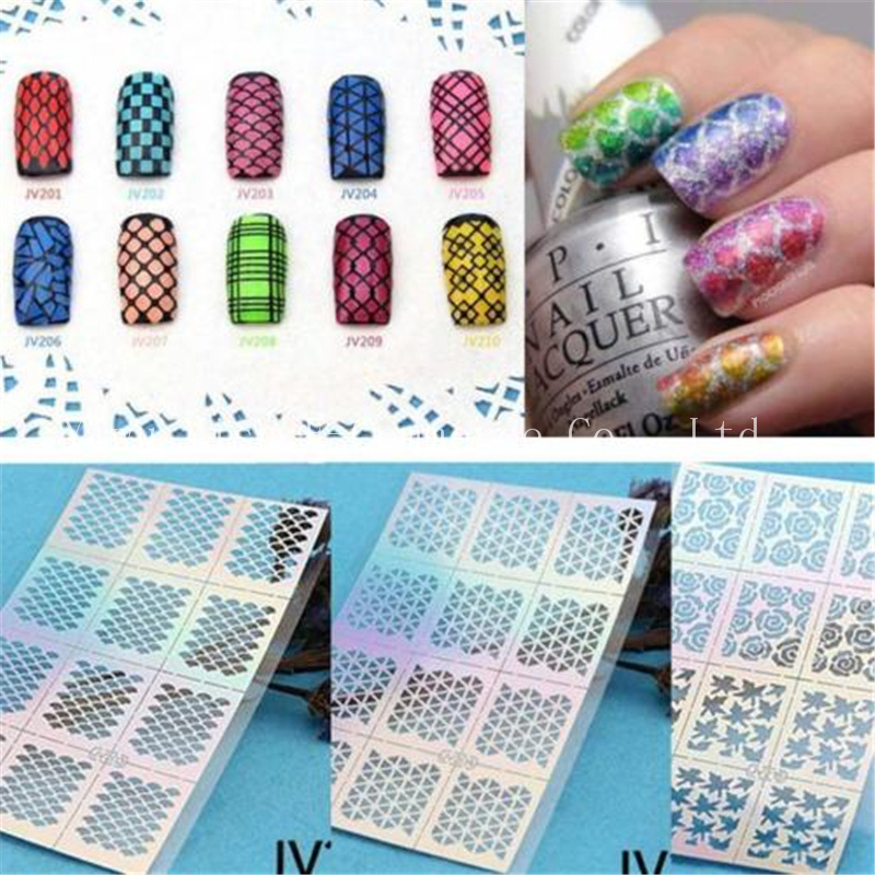 sheet beauty nail sticker