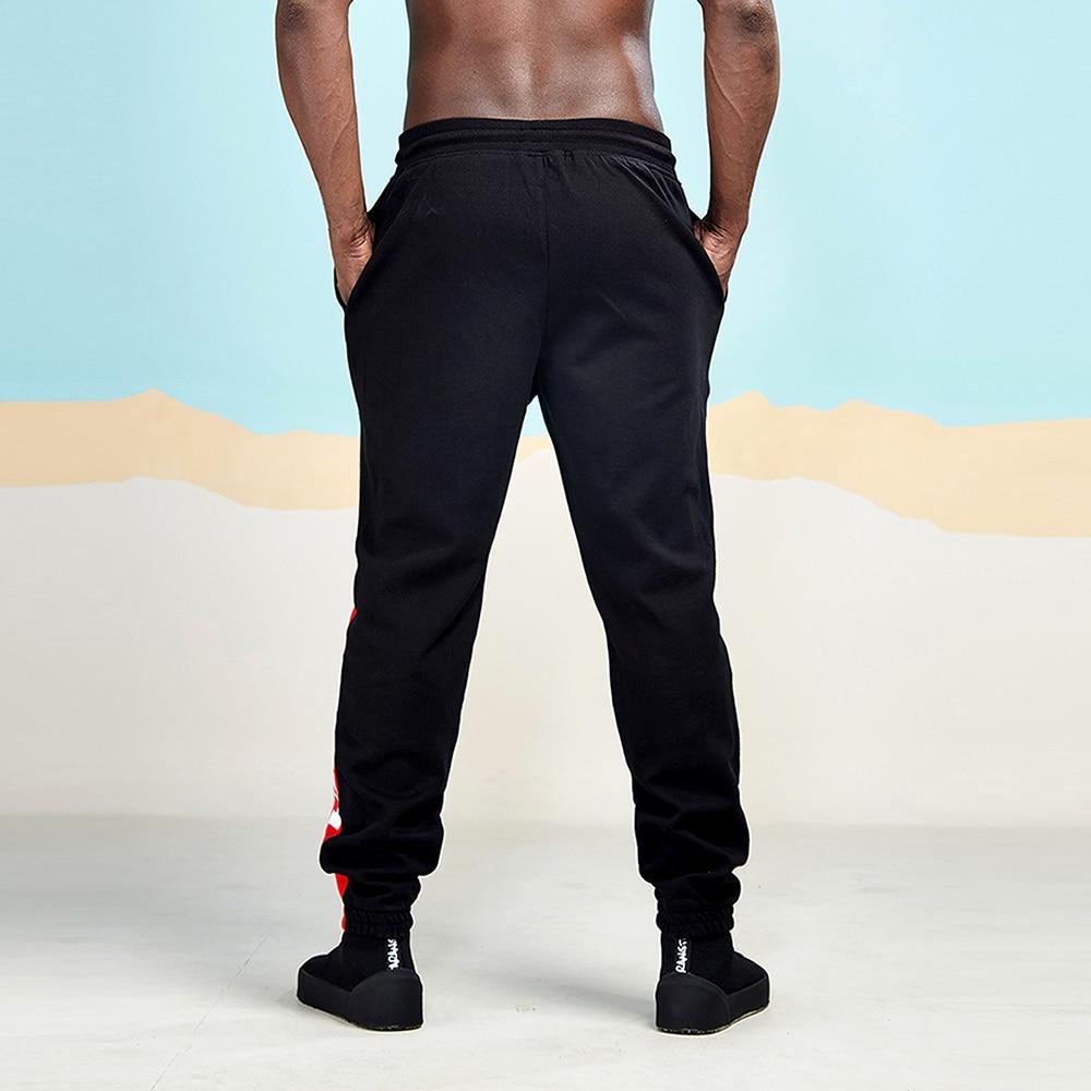 5483da86 AIMPACT 2019 брендовая одежда повседневные спортивные брюки для мужчин  модные спортивные штаны с принтом Мужские брюки в стиле хип-хоп Уличная  Хлопковые ...