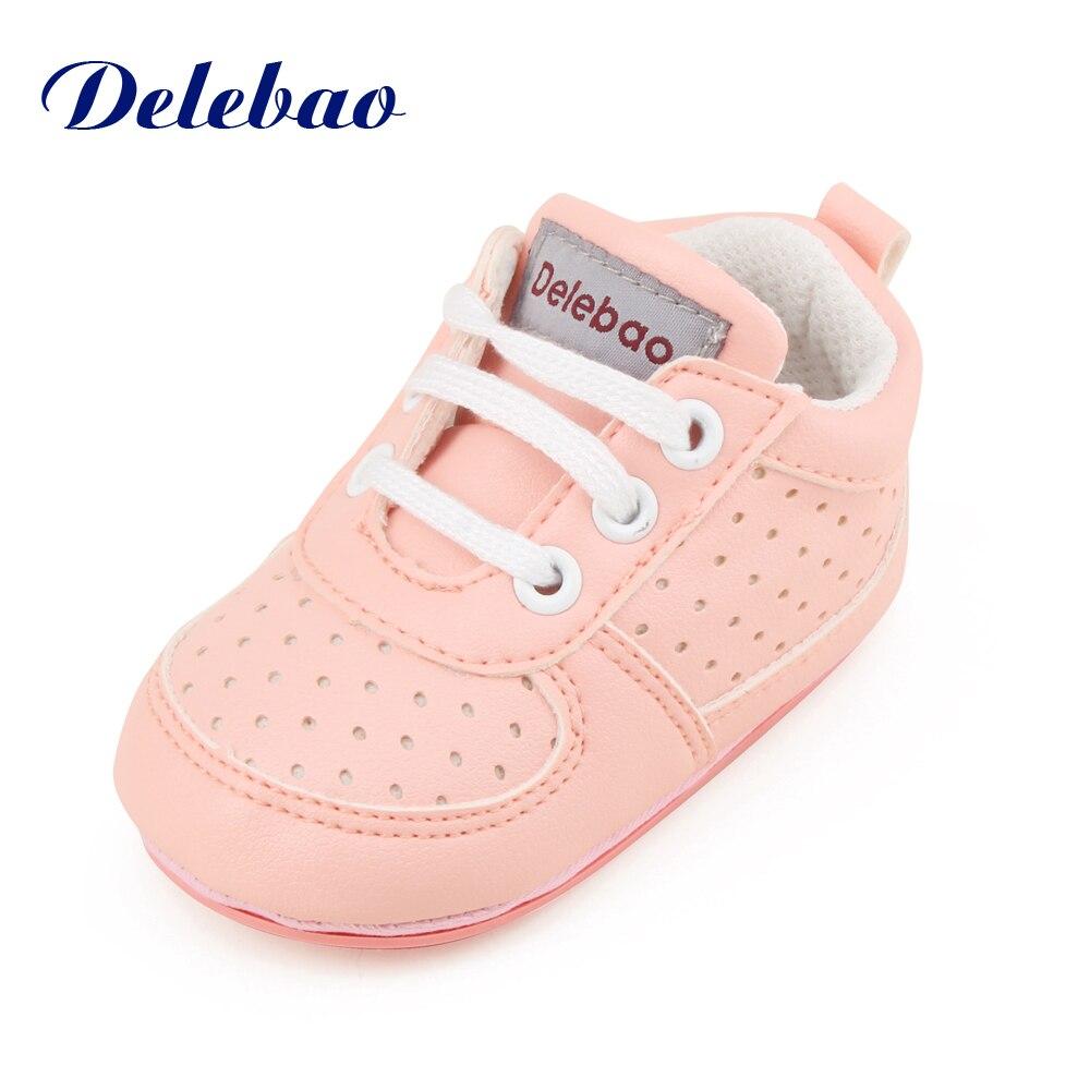 Delebao rubberen zolen voor een peuter schoenveter baby schoenen - Baby schoentjes - Foto 1