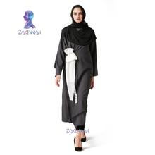 Новая мода Дубай саудаўскіх жанчыны сукенка Абай Lady Мусульманскія сукенкі для жанчын Жанчыны мусульманскага сукенкі максі жанчыны