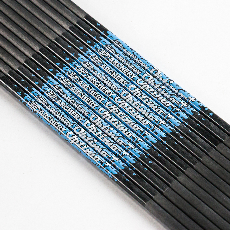 12pcs SF Carbon Arrow Shaft Spine 350 400 500 600 700 800 900 1000 ID 4