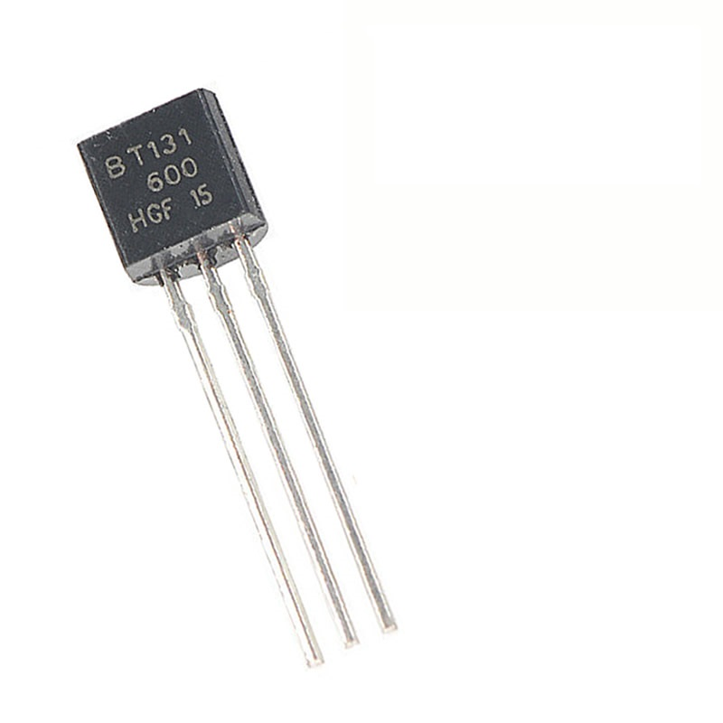 MCIGICM 100pcs BT131-600 1A 600V Silicon Controlled Switch TO-92-3 Rectifier Diode Thyristor