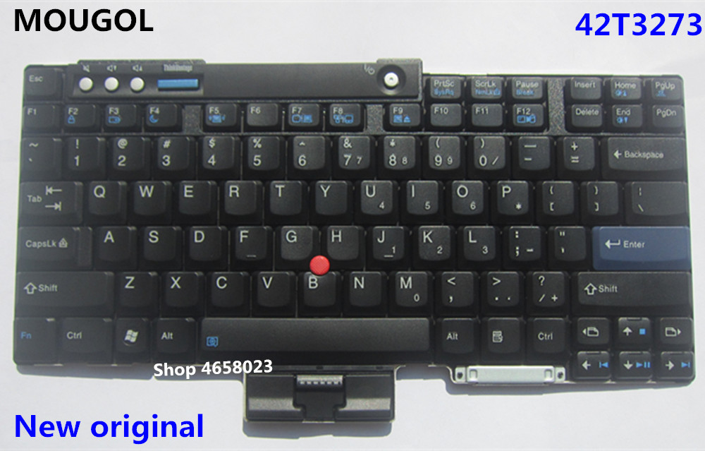 Charitable Mougol New Original Us English Keyboard For Lenovo Thinkpad T60 T60p T61 T61p T400 T500 W500 Teclado 42t3273 42t3209 42t3143 42t Products Are Sold Without Limitations Replacement Keyboards