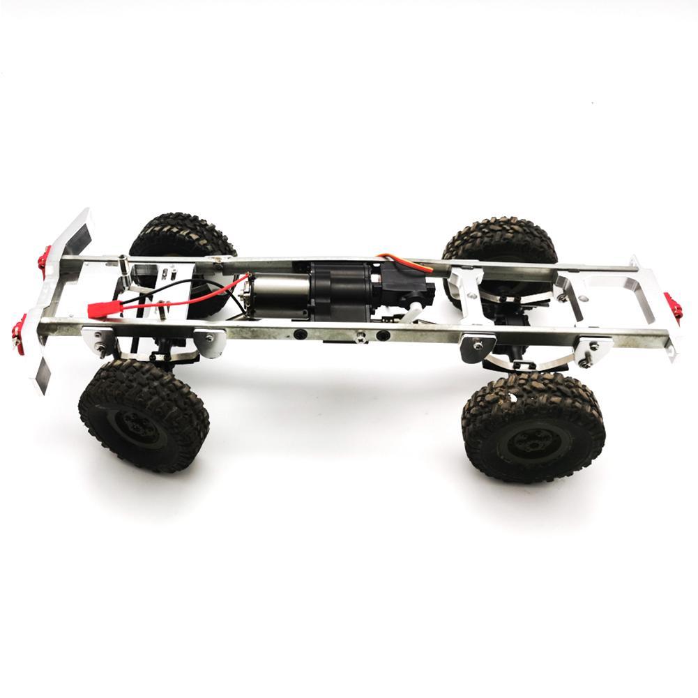Boîte de vitesses en métal Super-alimenté pour WPL JJRC MN 4WD 6WD RC voiture rénovation mise à niveau modèle accessoires bricolage mise à niveau modèle modifié jouets - 3