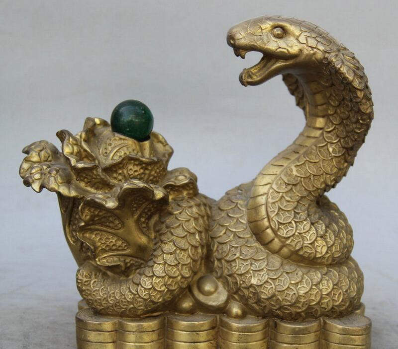 Details about  8 Chinese Brass Zodiac Year Eye Snake Bead Serpent Cabbage Wealth Rich Statue  Details about  8 Chinese Brass Zodiac Year Eye Snake Bead Serpent Cabbage Wealth Rich Statue