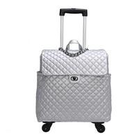 Известный Бренд Винтаж чемодан на колесах Сумки на колёсиках для мужчин Cabin Дорожная сумка женщин кожа дорожная тележка