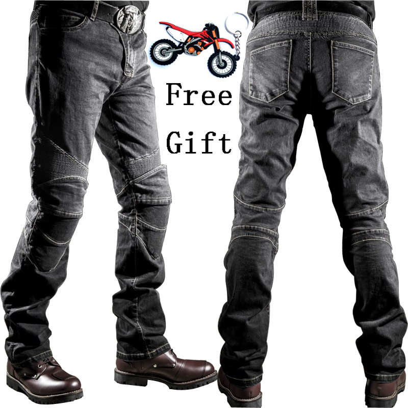 2018 New Motorcycle Pants Men Moto Jeans Protective Gear Riding Touring Motorbike Trousers Motocross Pants Pantalon Moto Pants title=