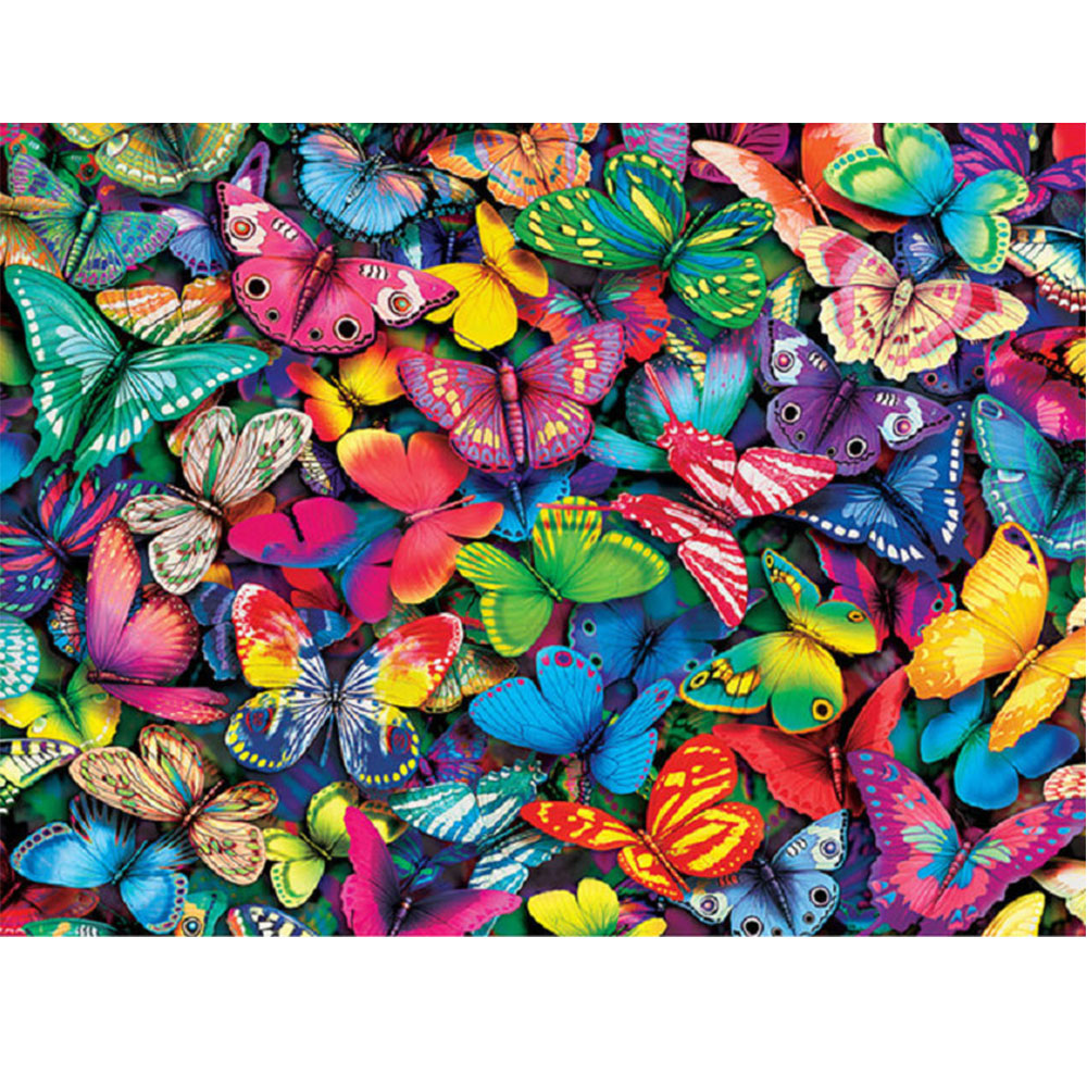 Moge 5D DIY diamond painting butterfly colorful Diamond embroidery group Mosaic Painting full