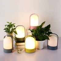 Nuevo Luz de noche creativa niños regalo mesita de noche lámpara LED energía librería decoración del hogar