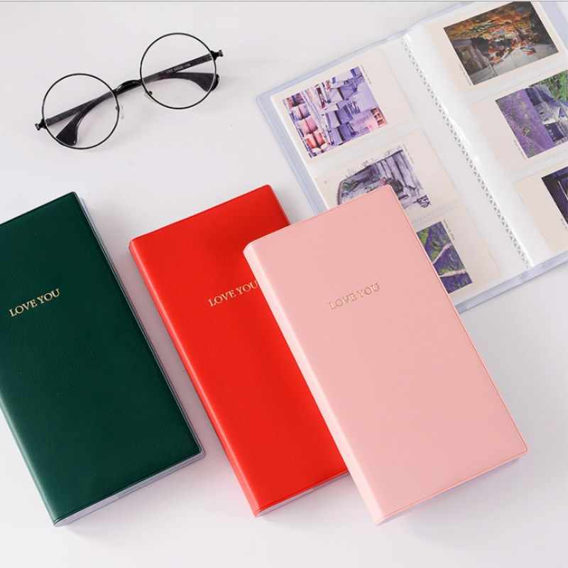 84 Pockets Photo Album for 3 Inches Instant Polaroid Fujifilm Instax Mini Film Photo Album Picture Case Storage For